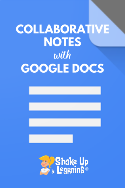 Collaborative Notes with Google Docs