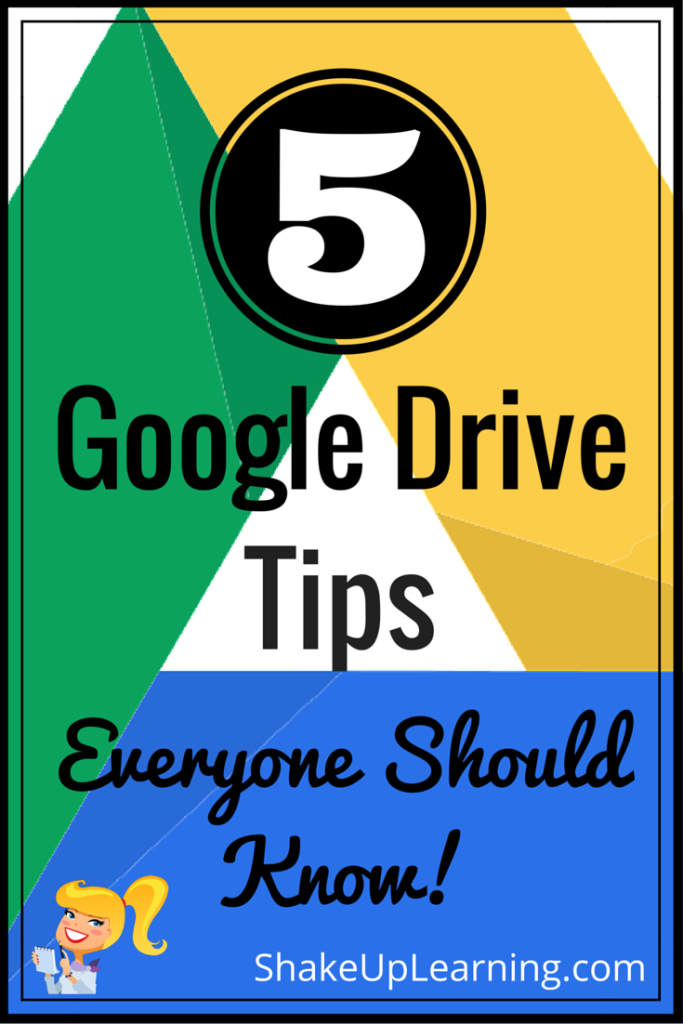 5 Google Drive Tips Everyone Should Know