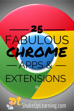 25 Chrome Apps and Extensions
