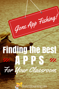 Gone app fishing finding the best apps for your classroom for Best fishing apps