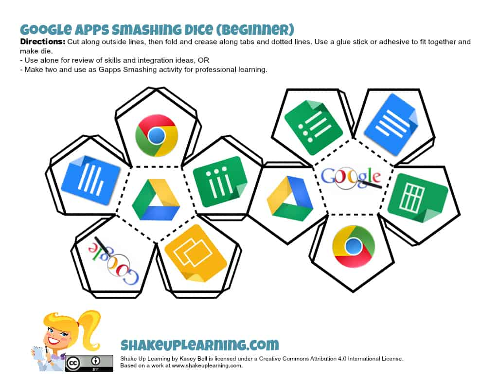 Beginner Google Apps Smashing Dice