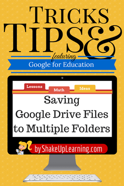 Saving Google Drive Files to Multiple Folders
