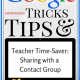 Share Google Drive Files Quickly with a Google Contact Group