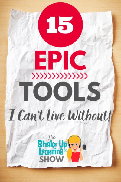 15 EPIC Tools I Can't Live Without!