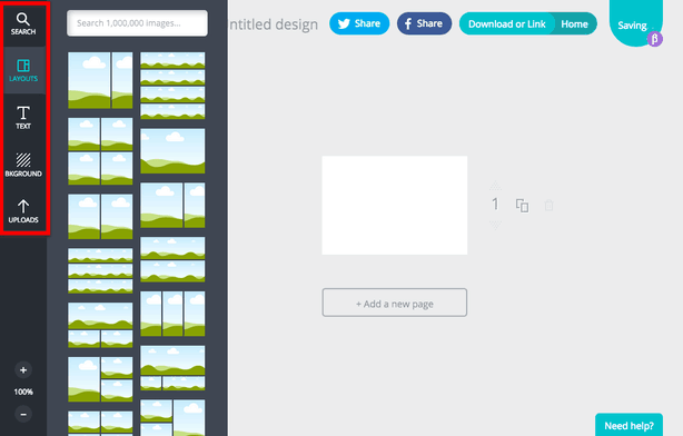 Canva Toolbar