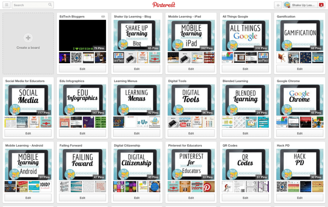 Shake Up Learning on Pinterest