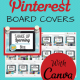 Create Beautiful Pinterest Board Covers with Canva