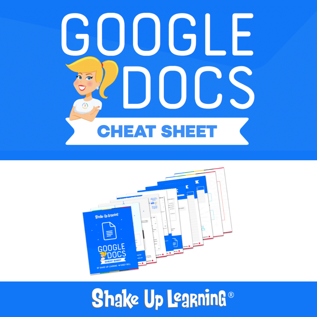 Google Docs Cheat Sheet