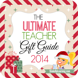 The ULTIMATE Teacher Gift Guide 2014 | Shake Up Learning | www.shakeuplearning.com | #edtech #gadgets #gifts #teaching