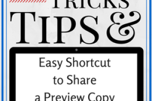 Amazing Shortcut for Sharing Google Docs!