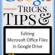 How to Edit Office Files in Google Drive