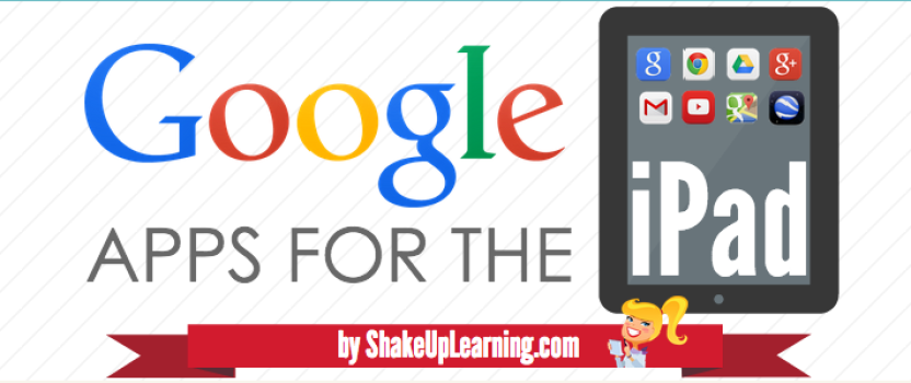 The Guide to Google Apps for the iPad [infographic] – Updated!