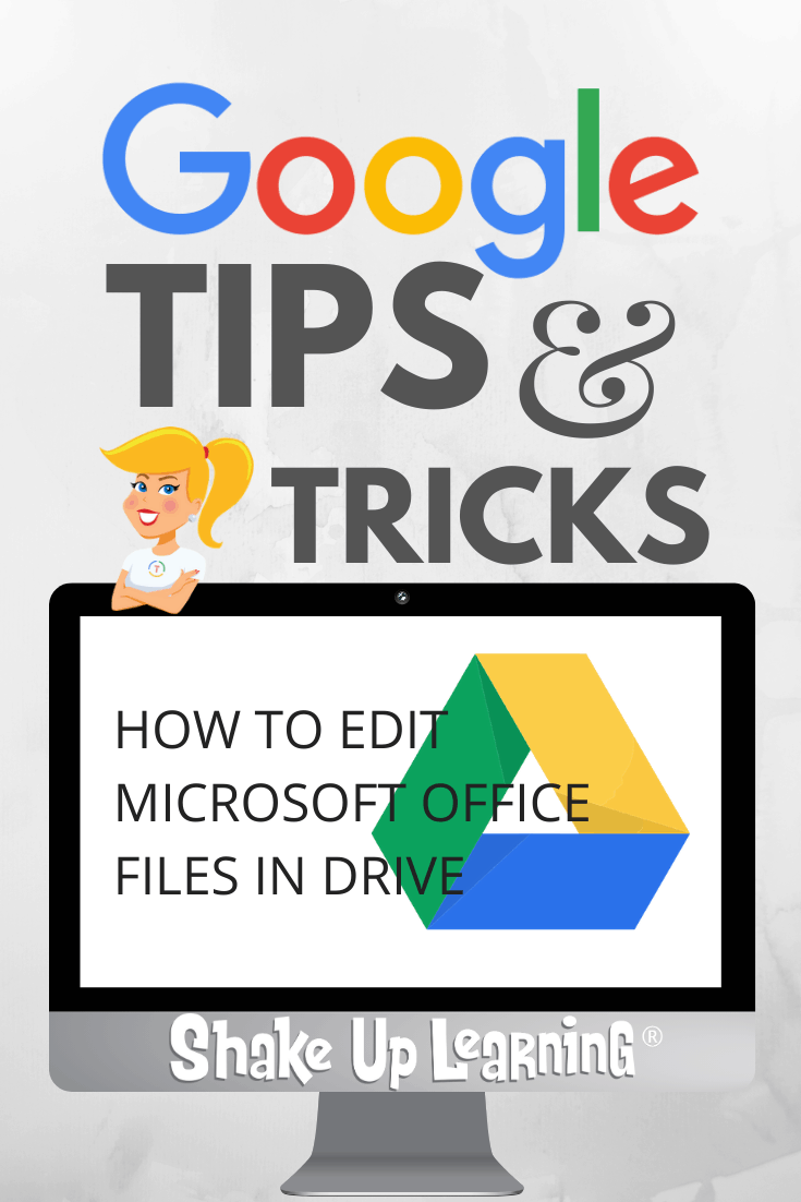 How to Edit Microsoft Office Files in Google Drive