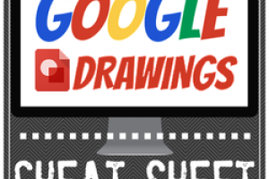 Google Drawings CHEAT SHEET for Teachers and Students!