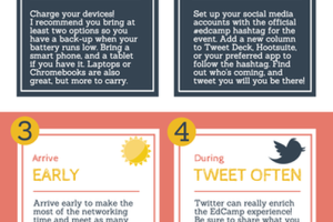How to Maximize the EdCamp Experience: 6 Tips! [infographic]