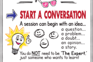 How to Be Awesome at #Edcamp! [FREE Poster Download!]