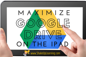 Maximize Google Drive on the iPad