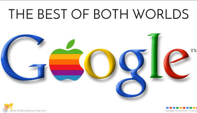 The Best of Both Worlds! Google Apps for the iPad #EduOnair | www.ShakeUpLearning.com | #gafe #googleedu