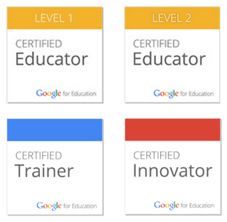 4 NEW Google Certifications! Plus a NEW Google Training Center! | www.ShakeUpLearning.com | #googleedu #gafe #edtech #edtechchat