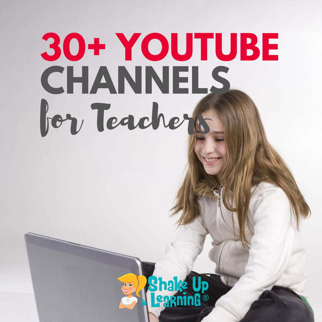 30+ YouTube Channels for Teachers