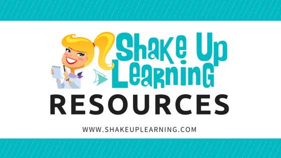 Digital Learning Resources from Shake Up Learning