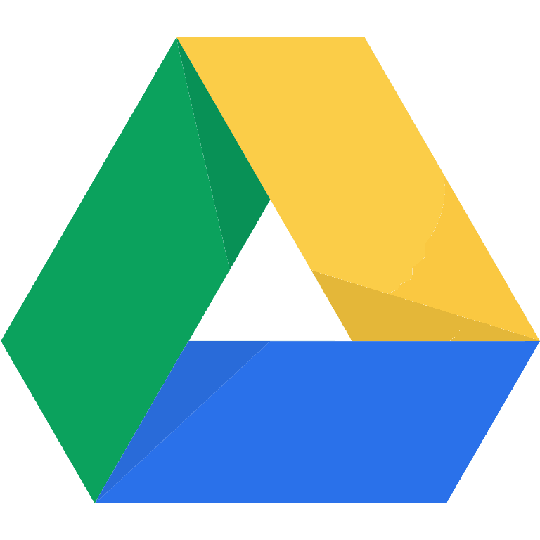 Google Drive Resources from Shake Up Learning.