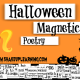 Halloween Magnetic Poetry with Google Drawings!