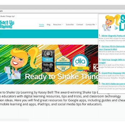 The NEW Shake Up Learning Chrome Extension
