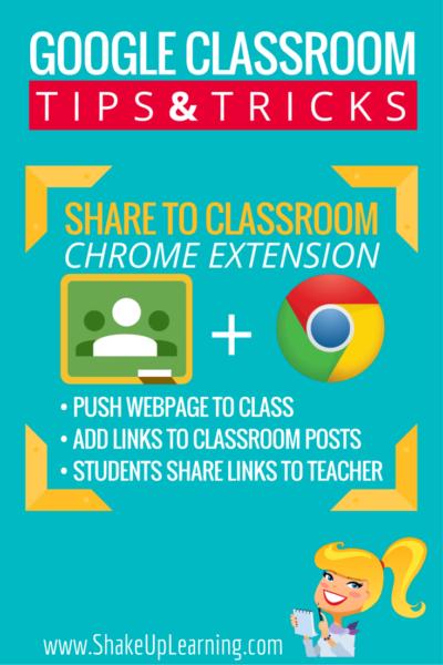 Share to Classroom