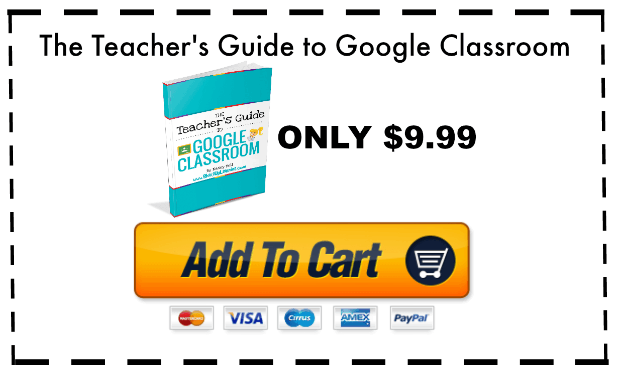 google classroom guide - add to cart