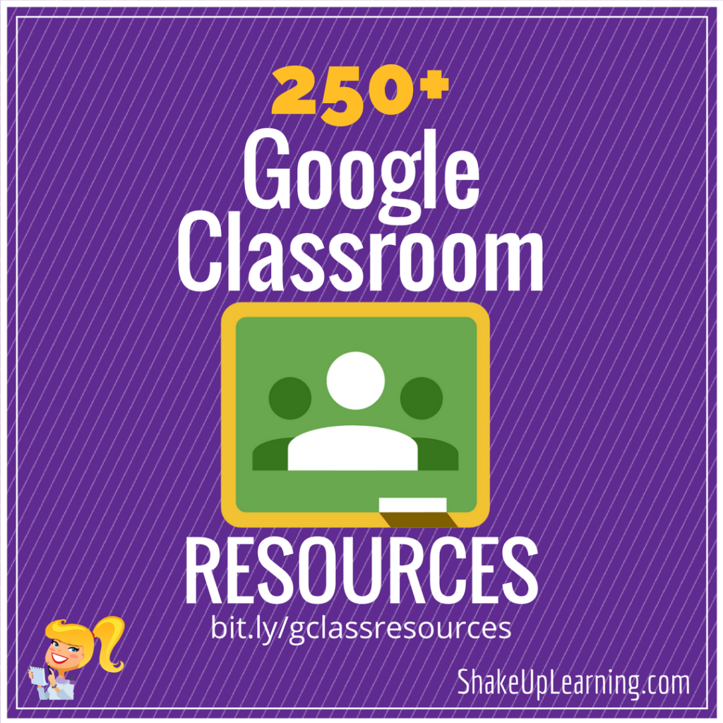 250+ Google Classroom Tips, Tutorials and Resources