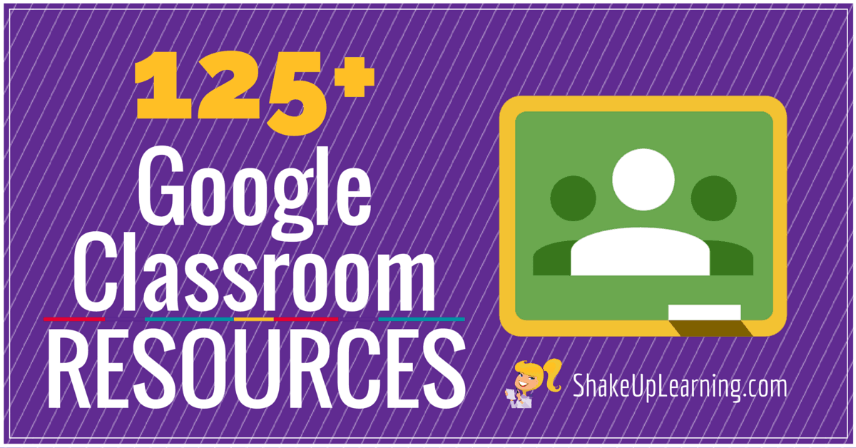 125+ Google Classroom Tips, Tutorials and Resources