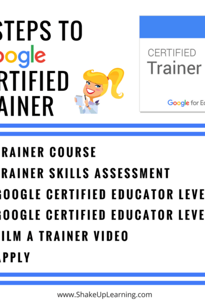 6 Steps to Google Certified Trainer