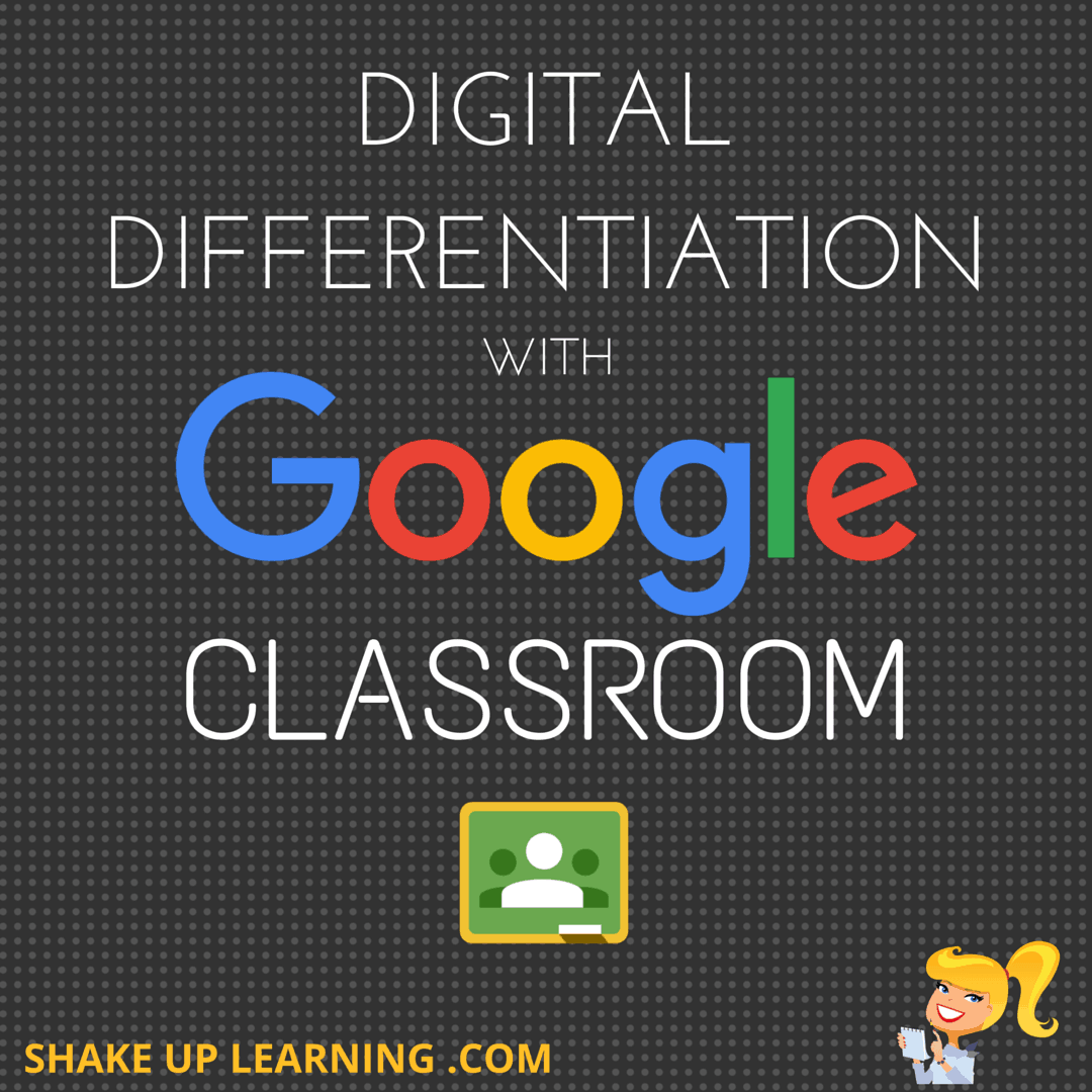 DIGITAL DIFFERENTIATION with Google Classroom (2017 Update!)