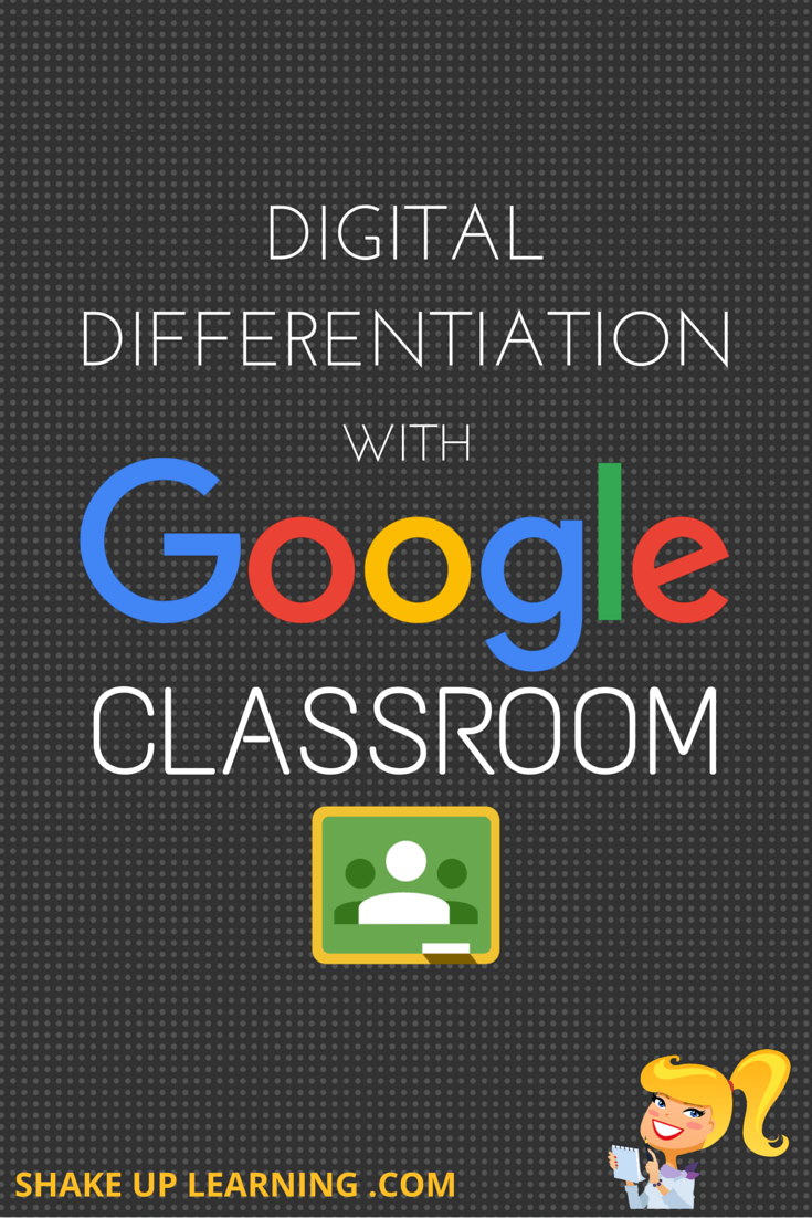 DIGITAL DIFFERENTIATION with Google Classroom
