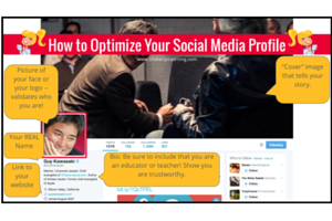 How to Optimize Your Social Media Profile