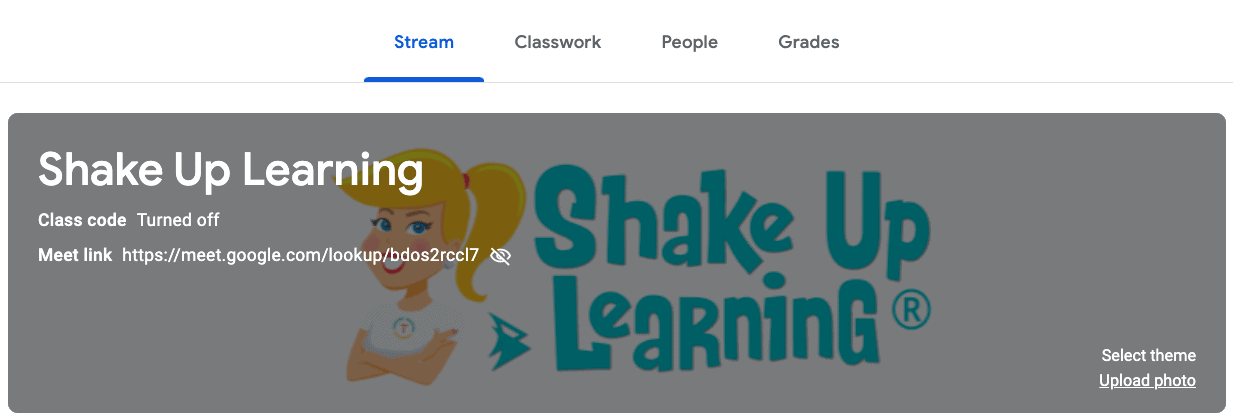 Create a Google Classroom Custom Header with Google Drawings