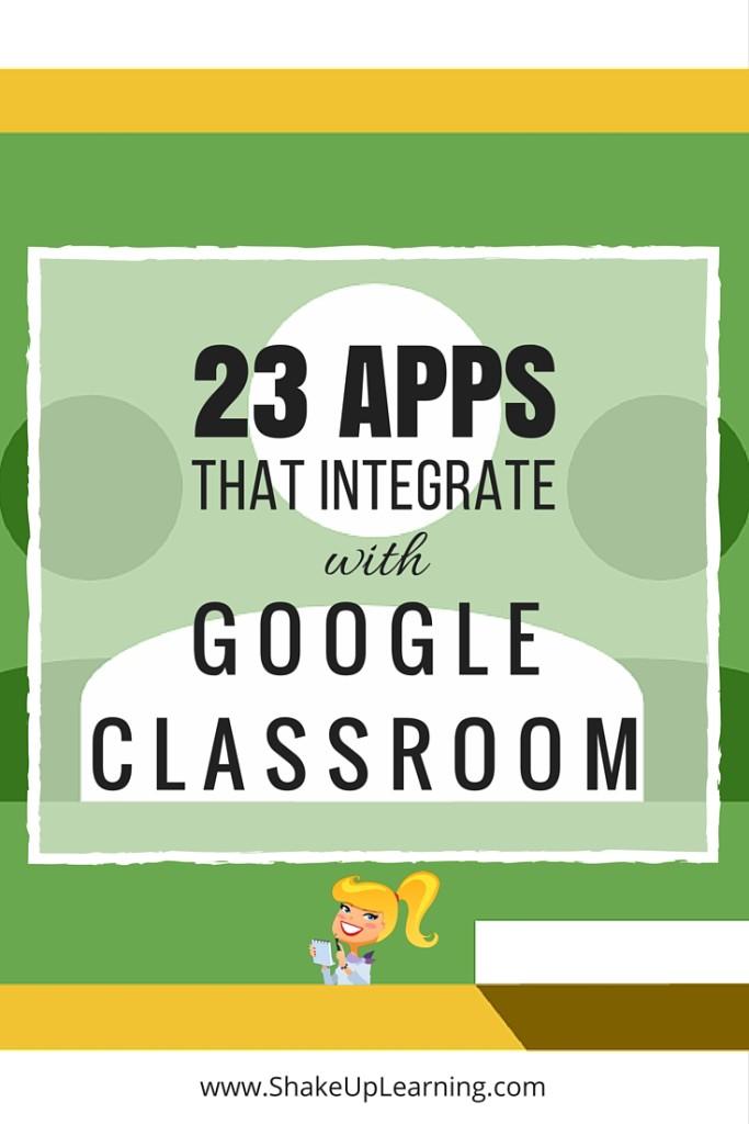 23 Aplicaciones impresionantes que se integran con Google Aula