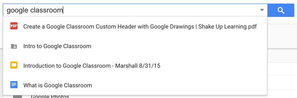 Google Drive Keyword Search