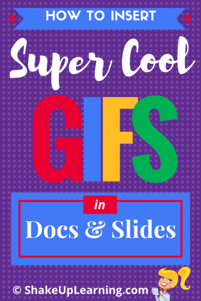 How to Insert Super Cool GIFs in Docs and Slides