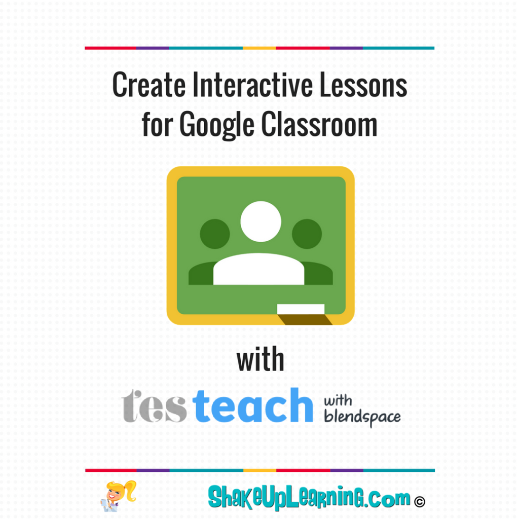 059866f9 Create Interactive Lessons for Google Classroom using TES Teach