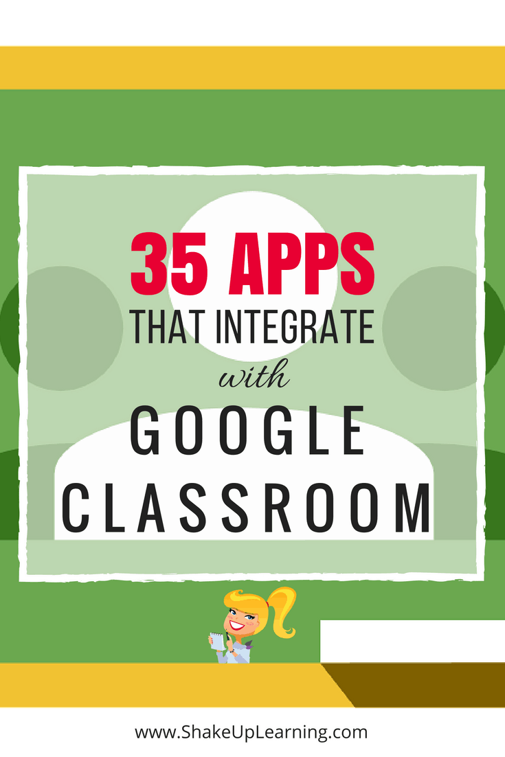 35 Apps that Integrate with Google Classroom