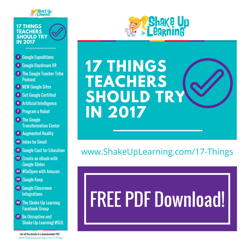 Google classroom resources shake up learning 17 things for teachers to try in 2017 fandeluxe Choice Image