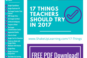 17 Things for Teachers to Try in 2017 (Infographic and FREE Download)