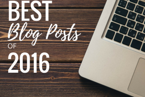 The Top 20 Blog Posts of 2016