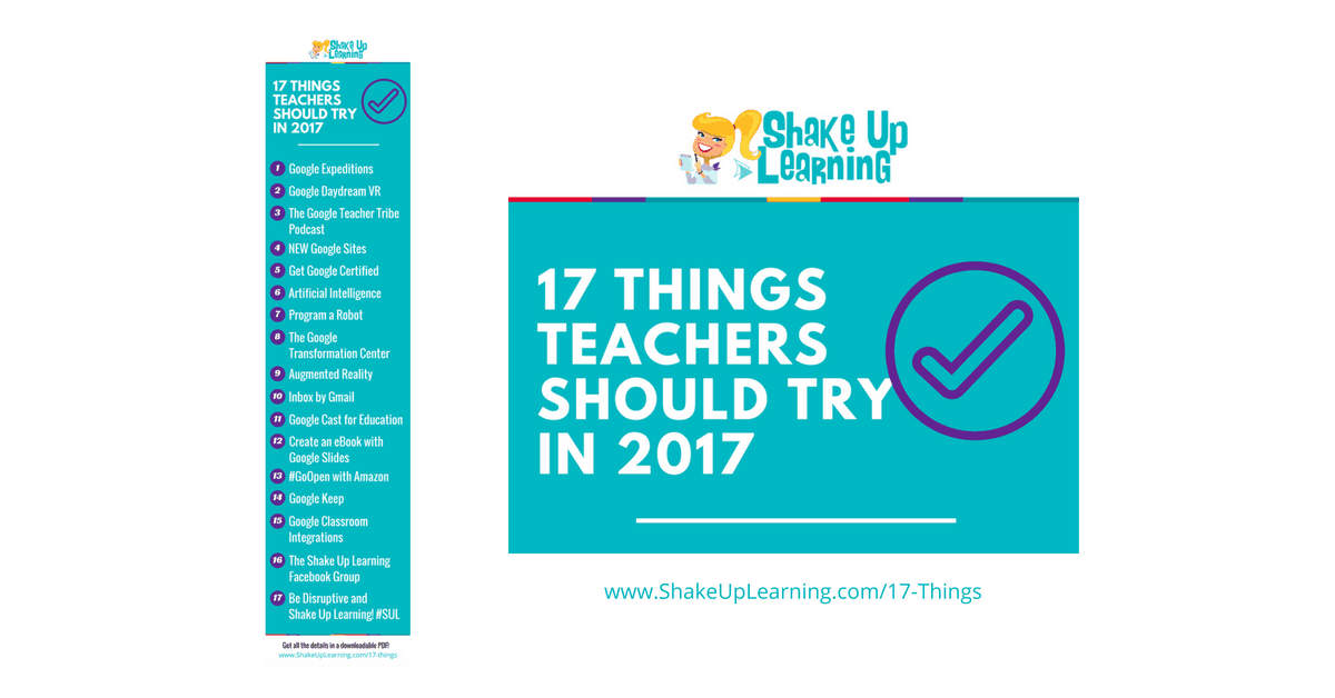 17 things for teachers to try in 2017 infographic and free 17 things for teachers to try in 2017 infographic and free download shake up learning fandeluxe Epub