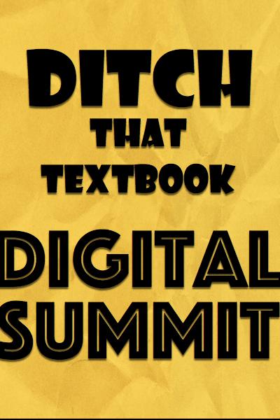 Ditch That Textbook Digital Summit