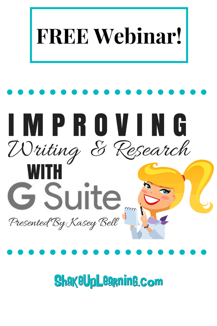 improving writing and research with G Suite