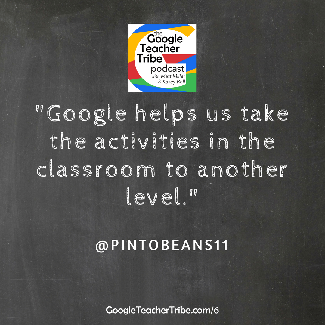 #GAFE4Littles with Christine Pinto | Episode 6 of The Google Teacher Tribe Podcast