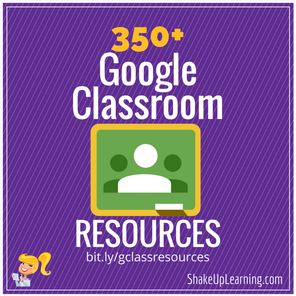 Shake up learning website and blog 350 google classroom tips tutorials and resources fandeluxe Choice Image